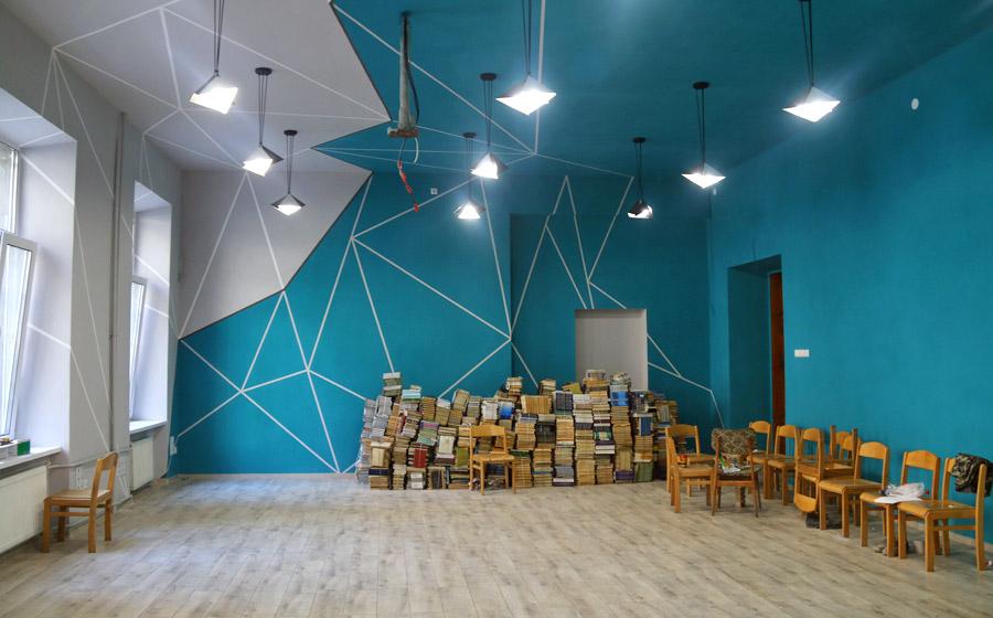 Завершення облаштування «Вільного студентського простору» на економічному факультеті