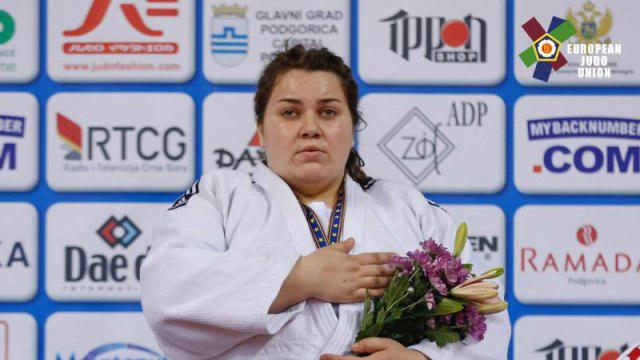 Василина Кириченко – дворазова чемпіонка Європи з дзюдо